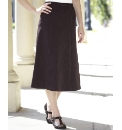 Gored Pull On Skirt Length 27in