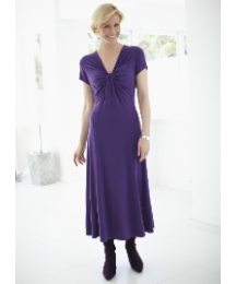 Plain Fabric Jersey Dress Length 43in