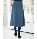 Crepe Stitch Detail Skirt 27in