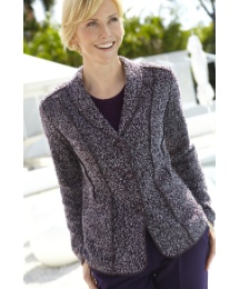 Lightweight Wool Mix Boucle Jacket