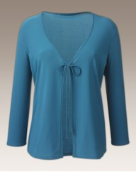 3/4 Sleeved Jersey Cardigan