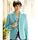Textured Fully Lined Polyester Blazer