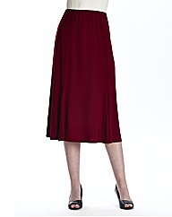 Panel Soft Jersey Skirt Length 29