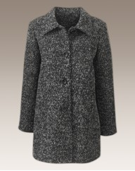 Boucle 3/4 Length Coat