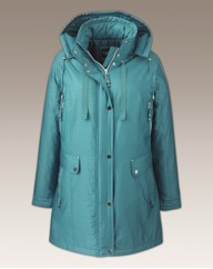 Dannimac Zip Coat With Detachable Hood