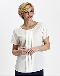 Pleat front Detail Blouse