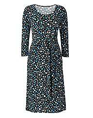 Magisculpt Print Dress Length 41