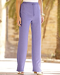 Petite Linen-Look Trouser Length 25in