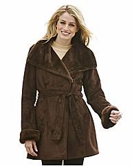 Dannimac Faux Suede Coat