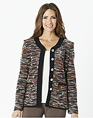 Soft Unlined Boucle Jacket