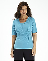 Soft Jersey Plain Twist Top