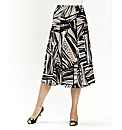 Print Skirt Length 29in