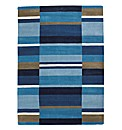 Multi Stripe Handmade Wool Rug