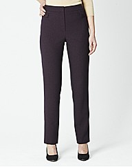Tab Detail Trouser Length 27in