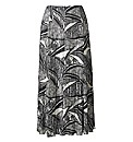 Plisse Maxi Skirt Length 35in