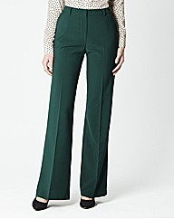 Wide Leg Trouser Length 27in