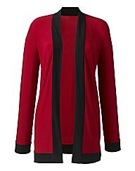 Soft Jersey Cardigan