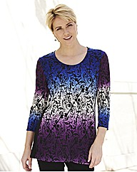 Ombre Jersey Tunic
