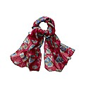 Exclusive Floral & Spot Printed Scarf