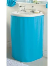 Plain Dye Washbasin Curtain