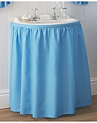 Plain Dye Washbasin Curtain