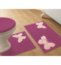 Butterflies Bath Mat Set