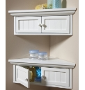 New England Bathroom Corner Cabinet