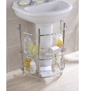Chrome Underbasin Storage Unit