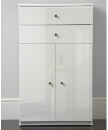High Gloss Double Door Cabinet