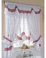 Romantic Lace Curtain Set