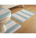 Henley Stripe Bathmat Sets