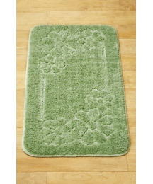 Daisy Carved Extra Long Bath Runner