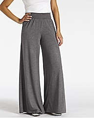 Jersey Palazzo Trousers Length 29in