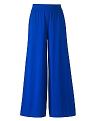 Jersey Palazzo Trousers Length 27in
