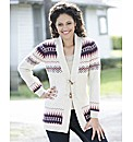 Jacquard Cardigan