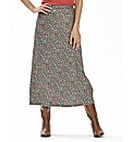 Printed Jersey Skirt 34in