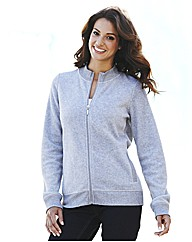 Micro Fleece With Front Zip Fastening