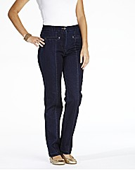 MAGIFIT Jean Straight Leg 27in