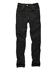 Lower Rise Straight Leg Jeans 29in