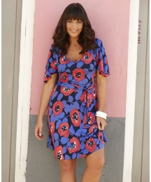 Poppy Print Tunic Dress