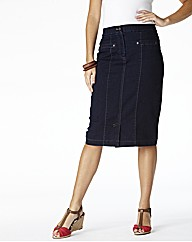 MAGIFIT Denim Skirt Length 25in