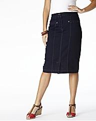MAGIFIT Denim Skirt Length 25in