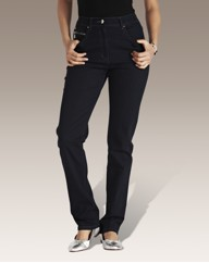 Straight Leg Embellished Jeans 29in