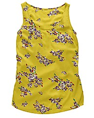 Flower Print Vest