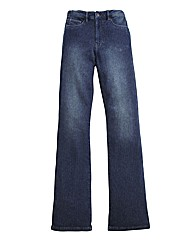 Jersey Bootcut Jeans Length 30in