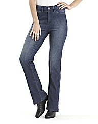 Jersey Bootcut Jeans Length 28in