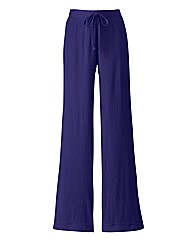 Crinkle Trousers 27in