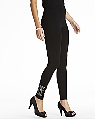 Stud Leggings Length 28in
