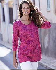 Lace Print Tunic
