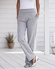 Straight Leg Leisure Trousers 27in